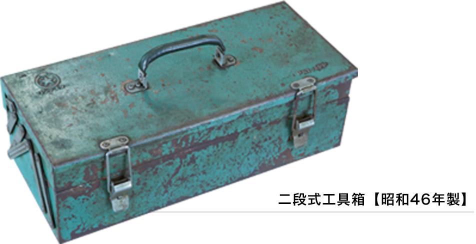 二段式工具箱【昭和46年製】